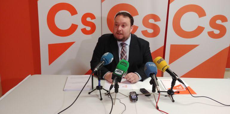 Rubén Gómez, en su comparecencia de prensa.
