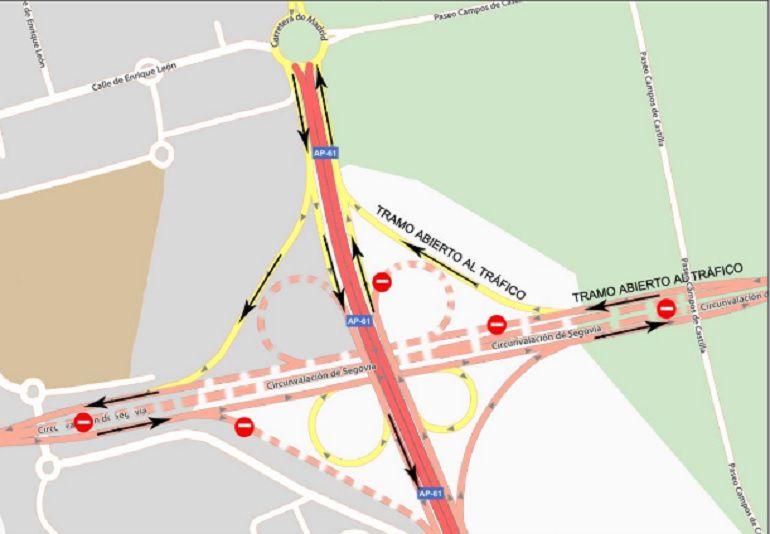 Modificaciones en el tráfico en la SG 20