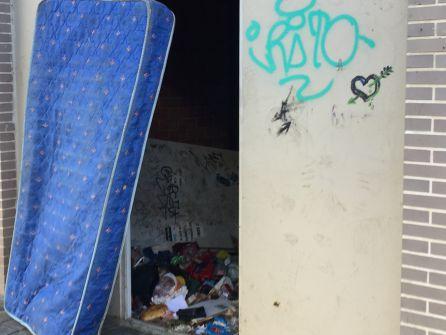 Bajo de la finca de la calle Sagunto 197