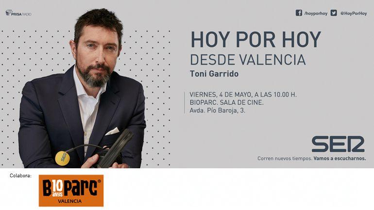 Hoy por Hoy desde Valencia con Toni Garrido