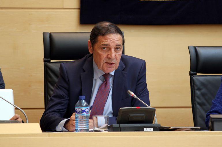 Antonio María Sáez Aguado, consejero de Sanidad