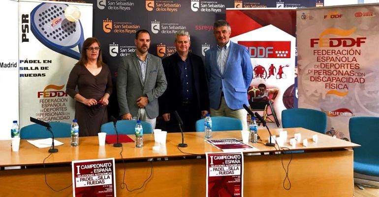 Presentación I Campeonato de España de Pádel en Silla