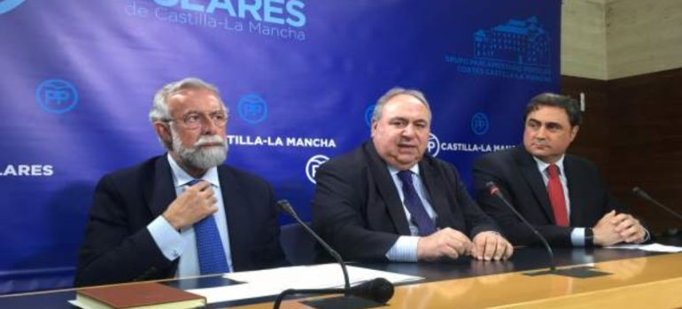 Jaime Ramos, Vicente Tirado, y Ámgel Mariscal