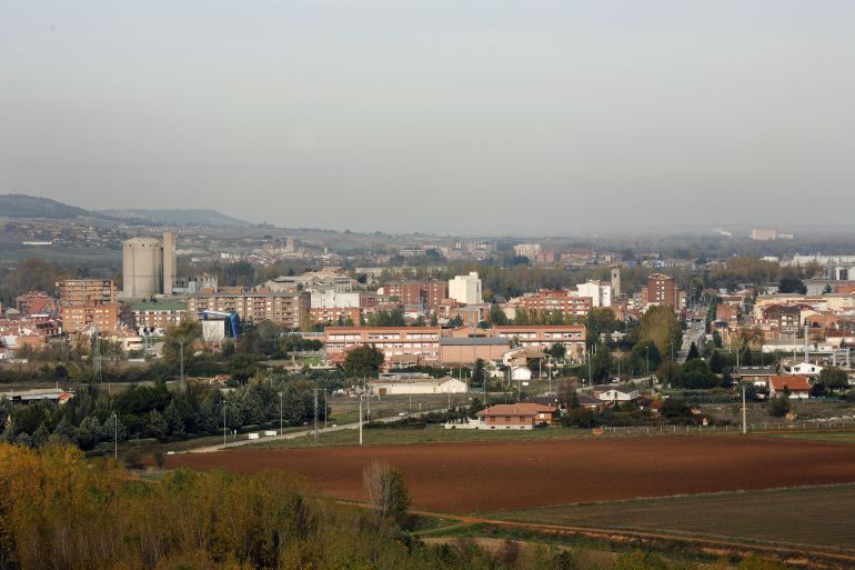 Vista general de Venta de Baños (Palencia) en cuyo polígono industrial se ubica la empresa denunciada