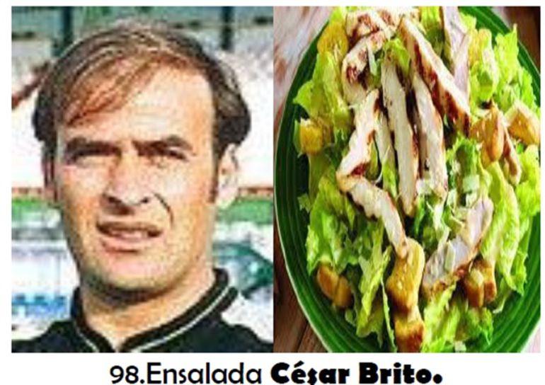 César Brito, recreado en el libro de José Campos.