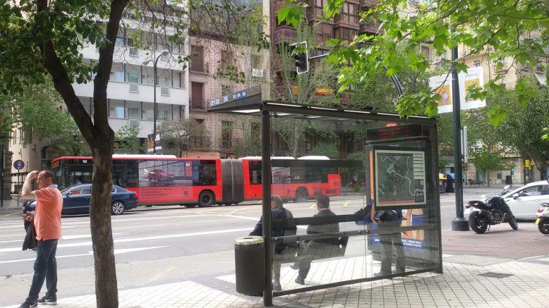 paros parciales en el bus urbano de Zaragoza fines de semana: El 83 ...