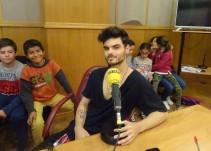 Abraham Mateo visita Radio Sevilla
