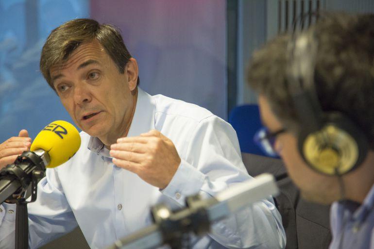 Carlos Andradas, rector de la Universidad Complutense, en la SER.
