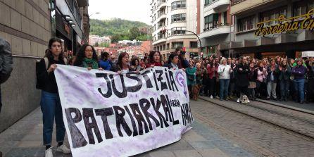 Nueva concentración ante los juzgados de Bilbao