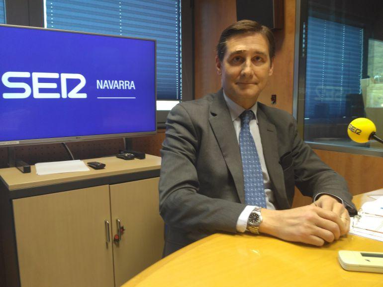 Iñigo Eugui, gerente de la empresa constructora, Erro y Eugui.