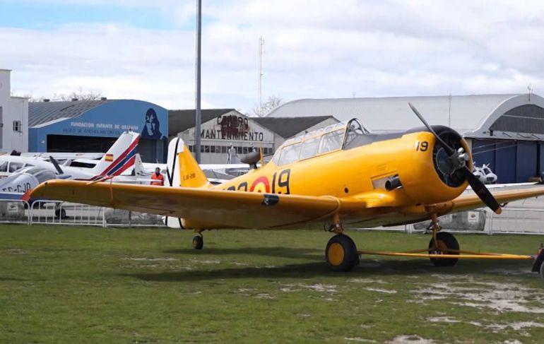 San Javier podría albergar la colección de aviones de la Fundación Infante de Orleans