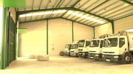 Nueva nave taller para los vehículos de recogida de residuos sólidos