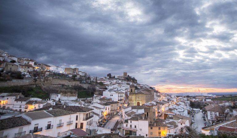 Panorámica de la ciudad de la Peña