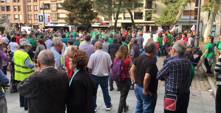 Imagen de la concentración de Valladolid