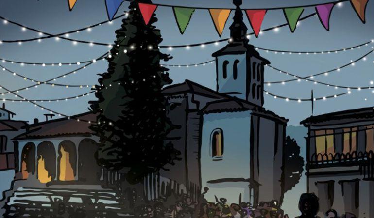 La Plaza del Pueblo acoge buena parte de las fiestas