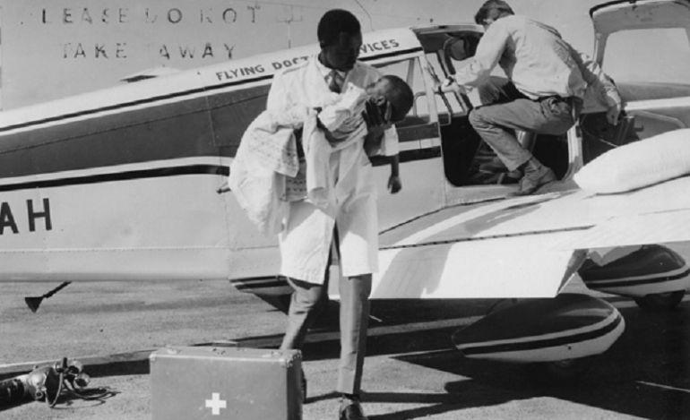 Las avionetas fueron el primero de los recursos de Amref