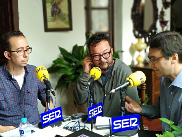 José María Martín, Juanjo Fernández Palomo y Pablo García Casado