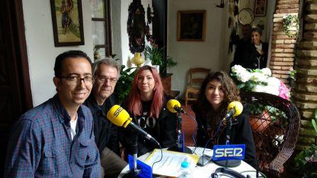 José María Martín, Ramón Medina, Alba y Lucía Moon.
