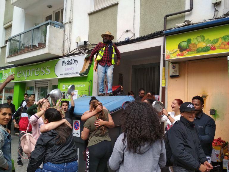 La plataforma Stop Desahucios Mallorca paraliza una ejecución en Son Gotleu