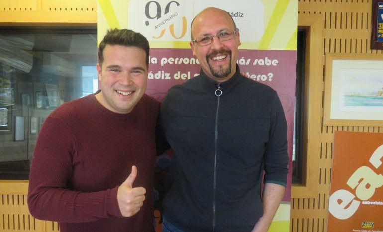 Roberto Gómez y Antonio Caro, concursantes de la sexta preliminar del Doctorado Honoris Cádiz