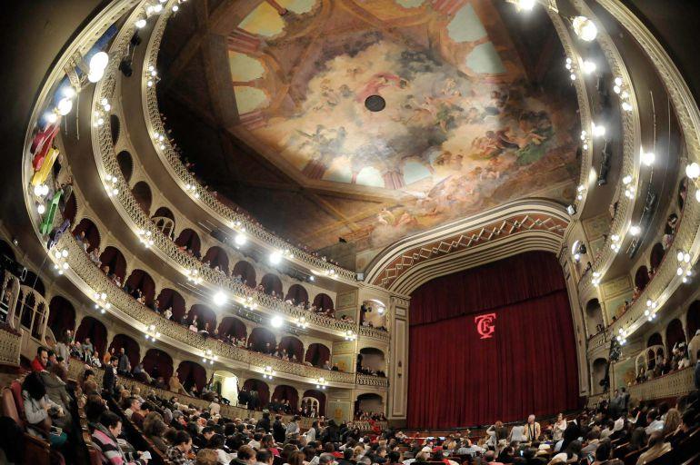 Interior del Gran Teatro Falla
