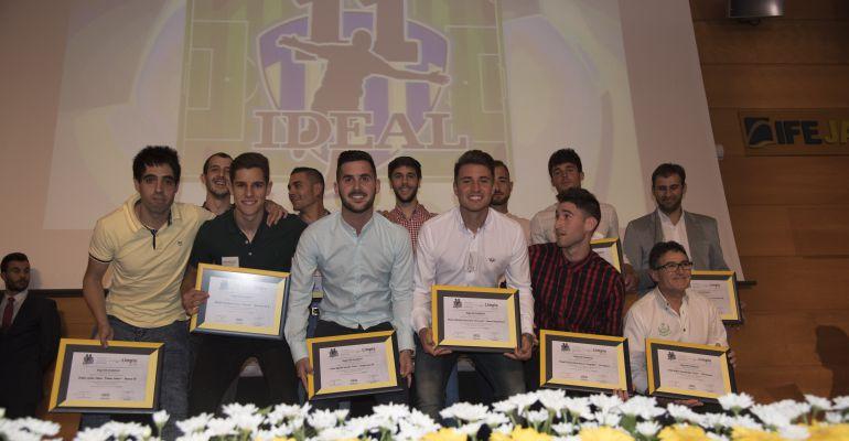 Once Ideal premiado en una edición anterior de los Premios Juego Limpio que organiza Radio Jaén.