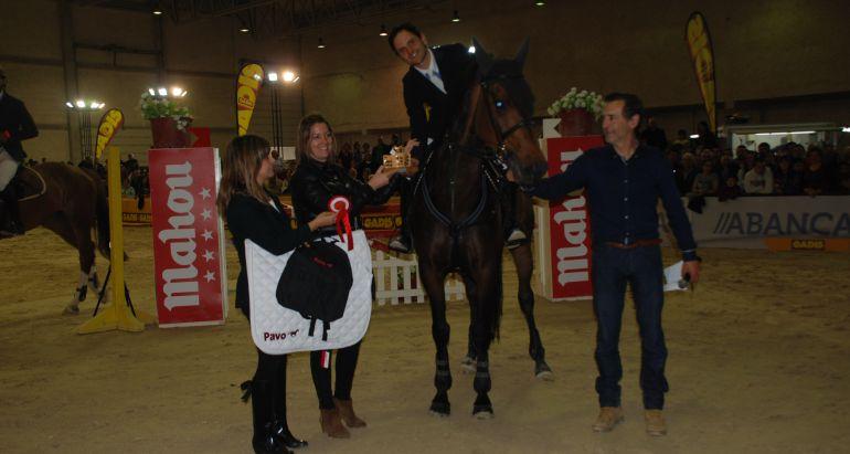 Entrega de premios en una edición de Equigal, en Lugo