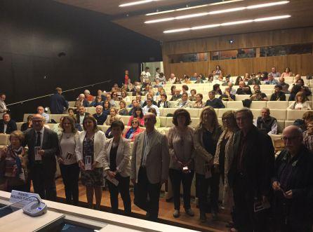 Un nutrido grupo de pealeños han acompañado a la alcaldesa de Peal de Becerro y autoridades jienennses al Museo Arqueologico Nacional en Madrid