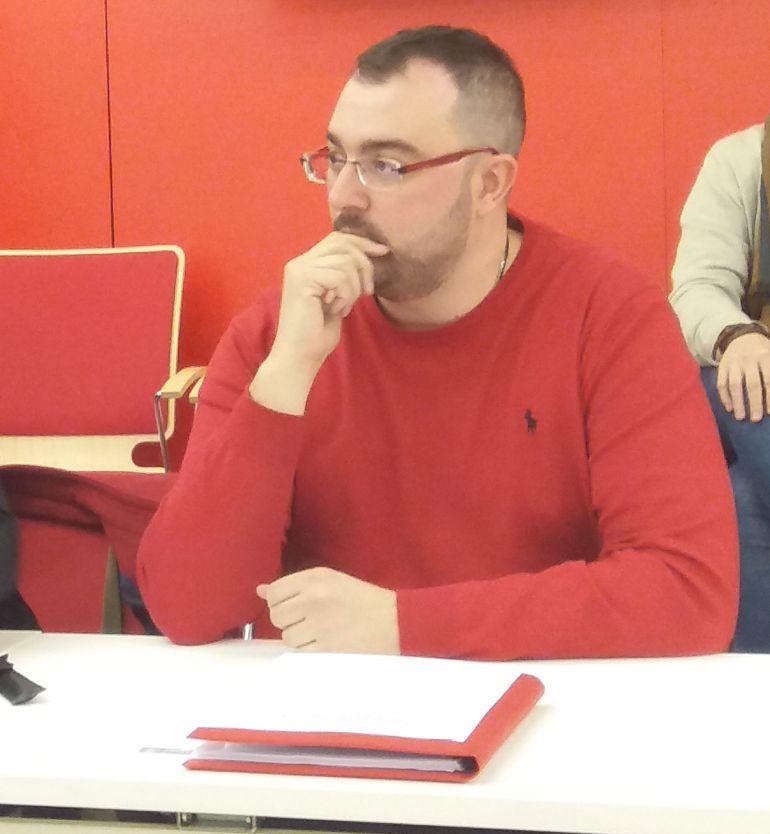 Adrián Barbón. Image de archivo Cadena SER.