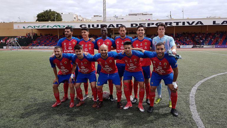 El UD Lanzarote, primer rival del Villarrobledo en el playoff