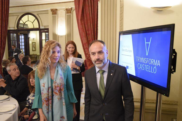 Amparo Marco Bruselas: Marco sondea en Bruselas la captación de Fondos Feder