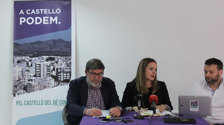 Podemos Castellón: Podemos no se presentará con lista propia a las municipales de 2019