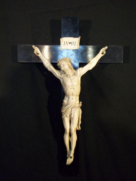 Imagen del cristo donado