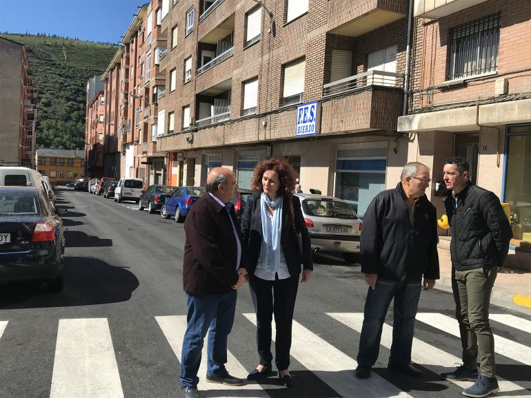 La adecuación de la calle Batalla de Roncesvalles