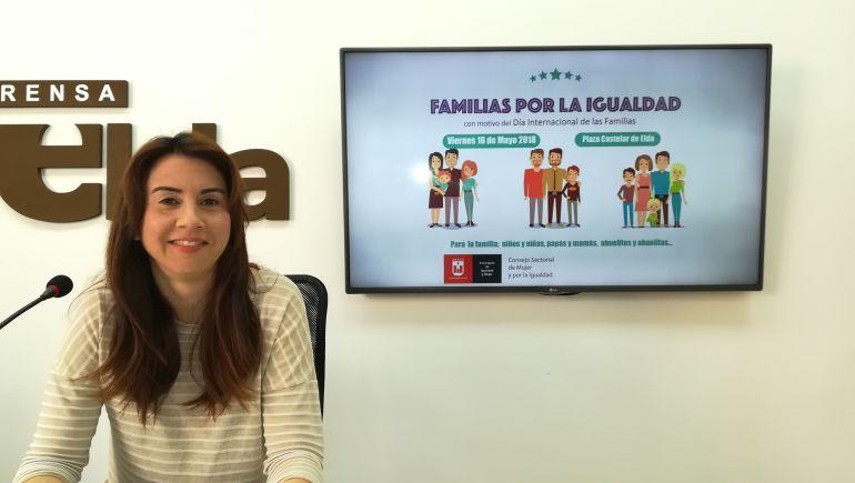 Alba García, edil de Igualdad en Elda