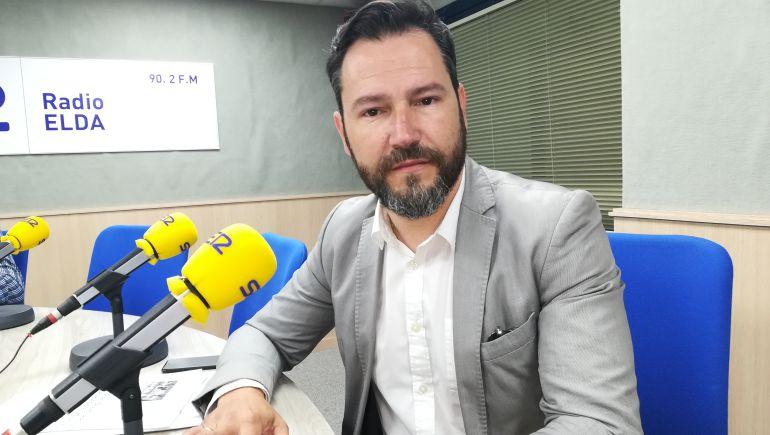 Francisco Muñoz, portavoz del PP de Elda
