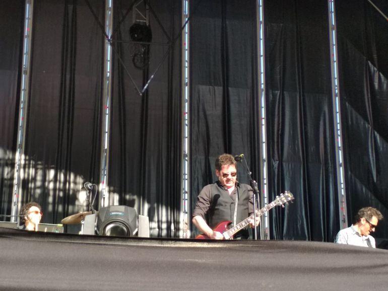 Lapido, en el concierto de En Órbita
