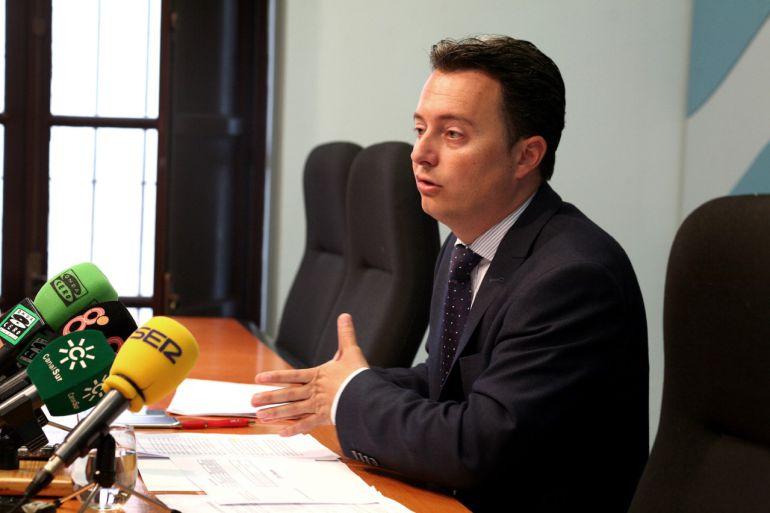 Santiago Galván, delegado municipal de Economía del Ayuntamiento de Jerez