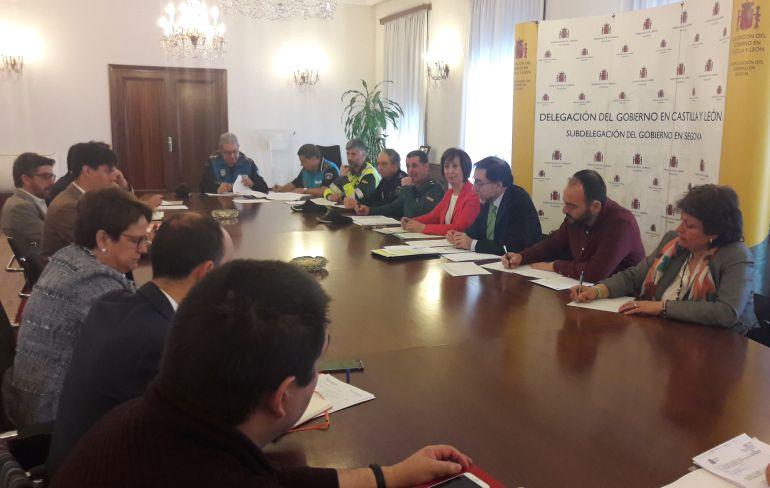 La Comisión Provincial de Tráfico se reúne en la Subdelegación de Gobierno para analizar los datos de la siniestralidad en las carreteras en la provincia