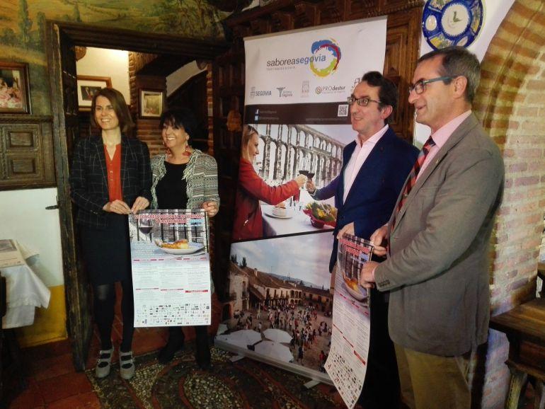 Presentación del VI Congreso Turismo y Gastronomia de Segovia.