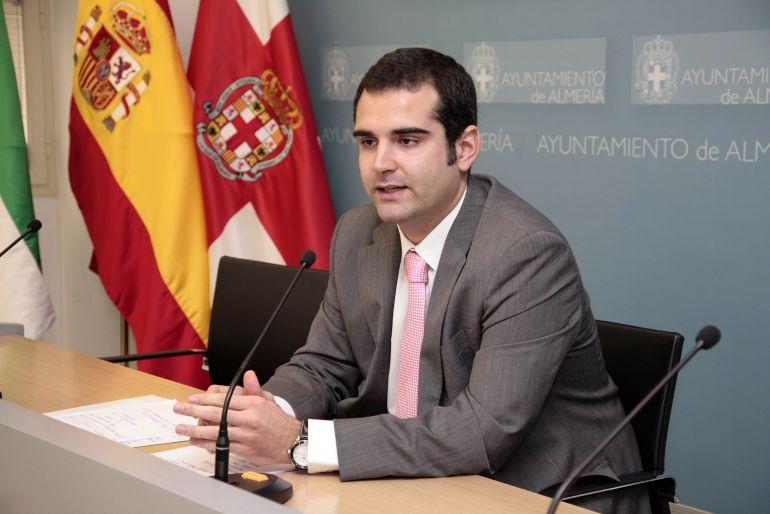 Ramón Fernández Pacheco, alcalde de Almería.