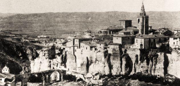 Cuenca hacia 1892.