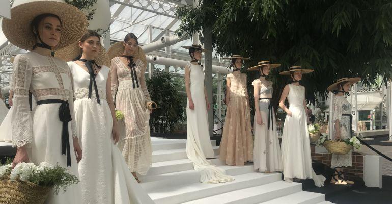 Pasarela de moda nupcial en Madrid