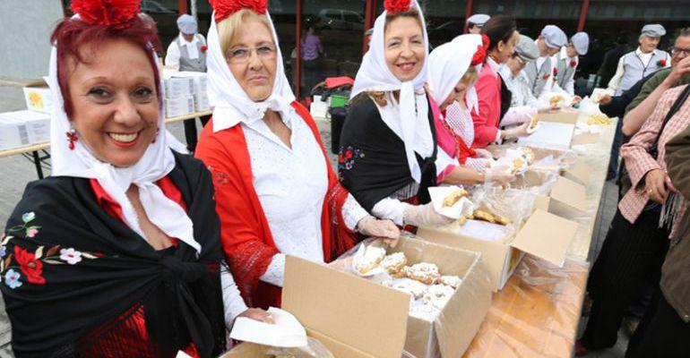 Las rosquillas son las protagonistas gastronómicas cada 15 de mayo