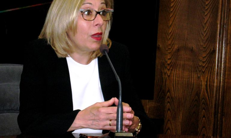 La directora del programa en el Bierzo, Ana PIlar Rodríguez