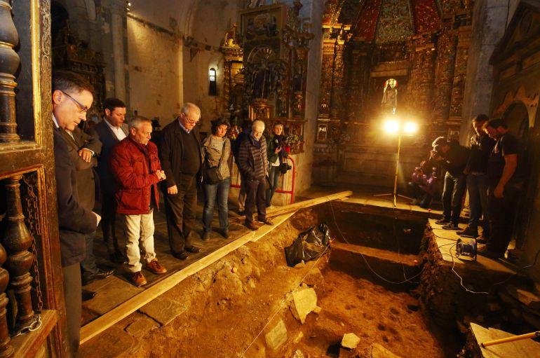 Los enterramientos de Montes explican los ritos mortuorios de los monjes