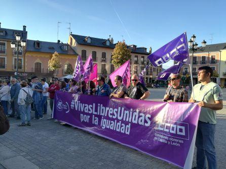 Exigen en la calle el cumplimiento del pacto contra la violencia de género