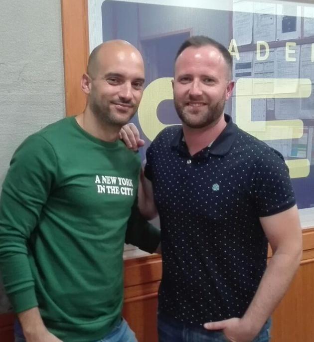 Juan y Cristóbal, en Radio Córdoba.