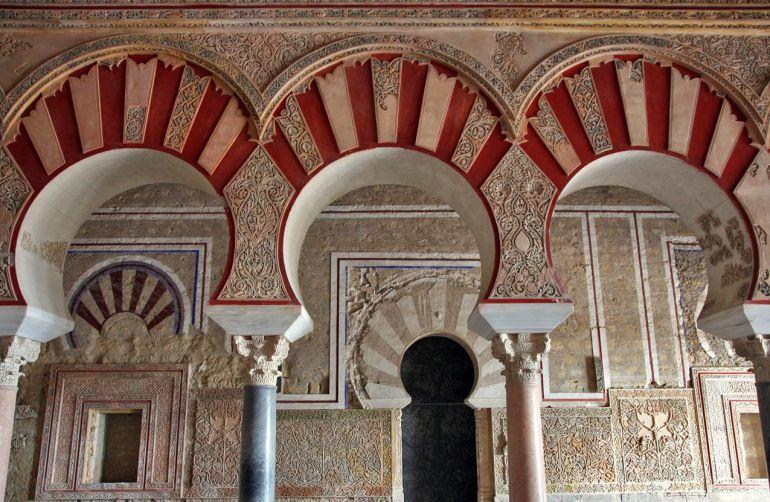 Vista interior del Salón Rico de Medina Azahara