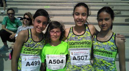 Las pequeñas en Alicante